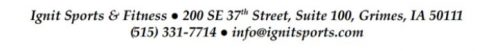 Ignit footer address